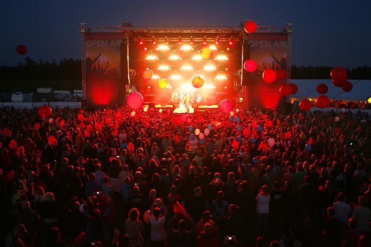 Foto: Heide Park Resort, Hit-Radio Antenne Open-Air Bühne