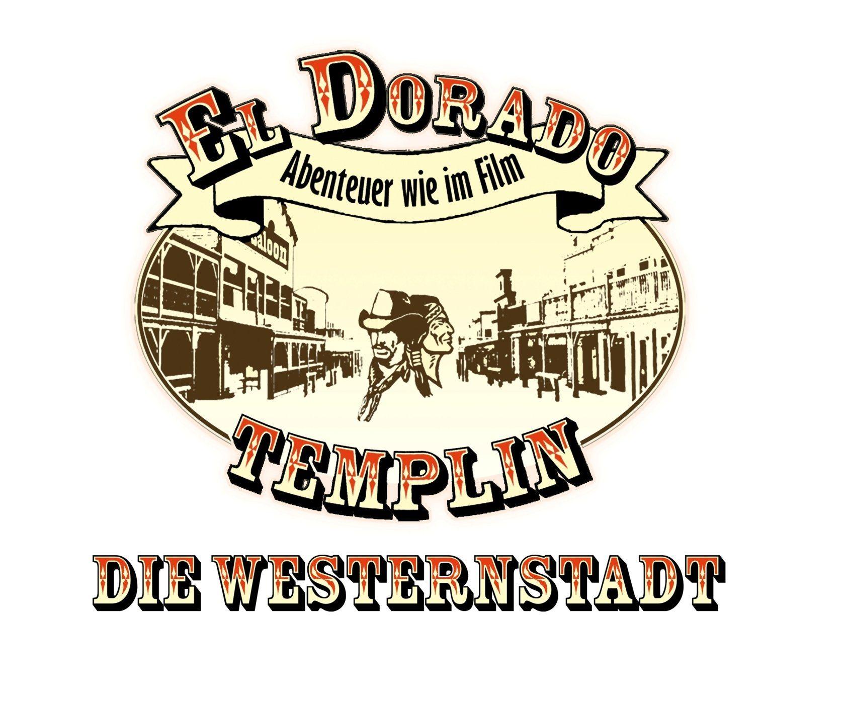 Logo El Dorado Templin – die Westernstadt