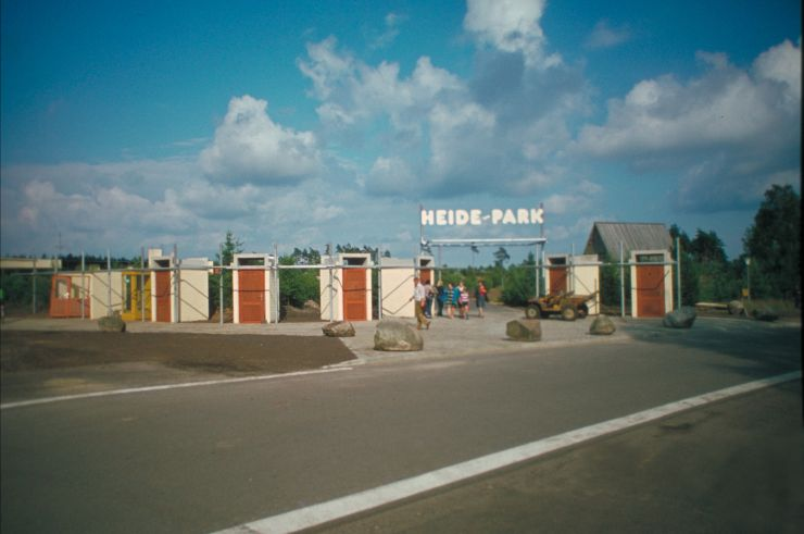 Foto: Heide Park Resort, Heide Park Eingang 1978