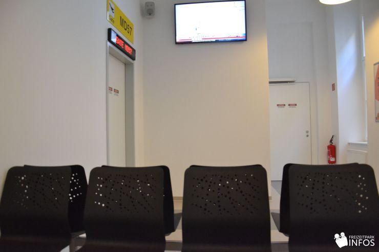 Foto: Freizeitparkinfos.de, Das Terminal