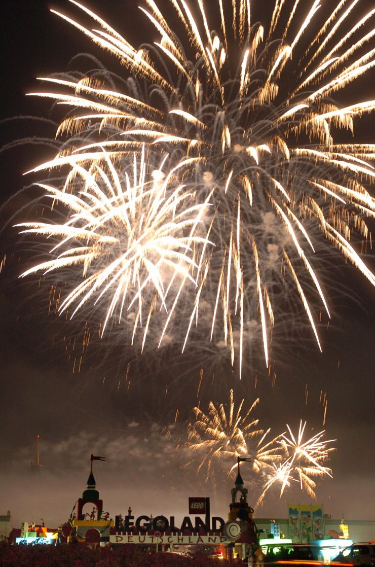 Foto: LEGOLAND® Deutschland Resort, Feuerwerk der langen Nächte