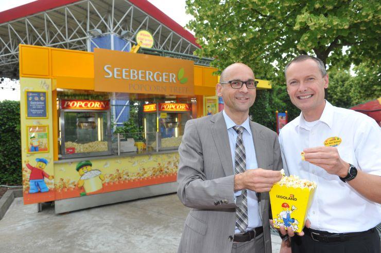 Foto: LEGOLAND® Deutschland Resort, Seeberger Popcorn-Stand