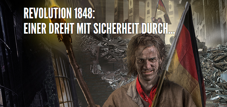 Foto: Berlin Dungeon, Revolution 1848