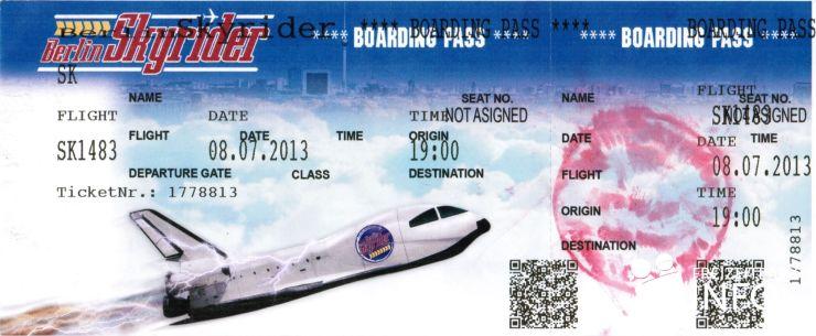 Foto: Freizeitparkinfos.de, Das Boarding Ticket