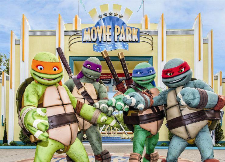 Foto: Movie Park Germany, die Turtles kommen!