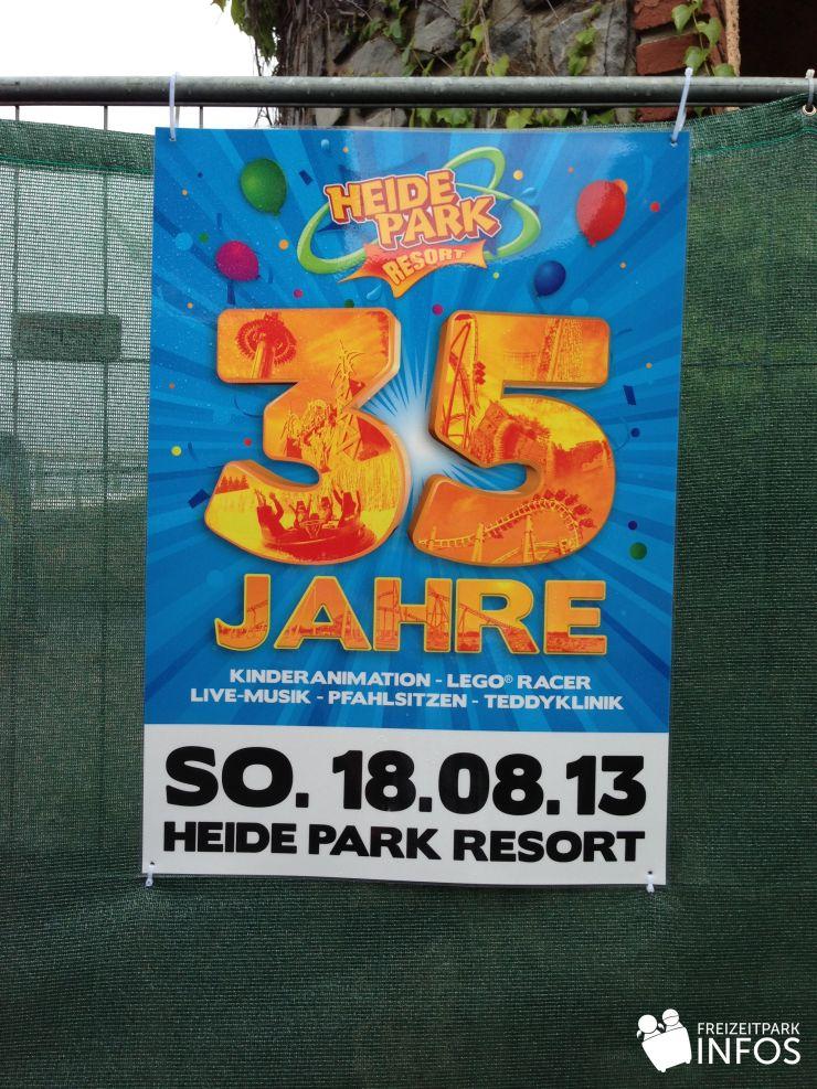 Foto: Freizeitparkinfos.de, 35 Jahre Heide Park, 18.08.2013