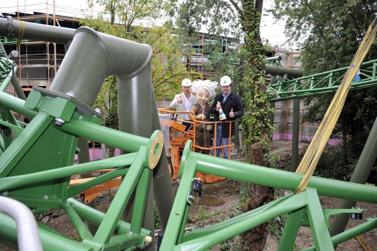Foto: Europa-Park, Schienenschluss der Großattraktion