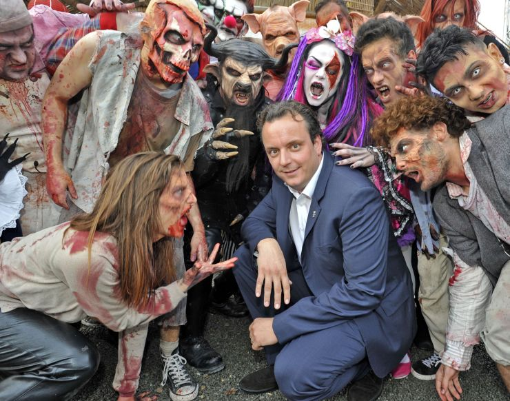 Foto: Europa-Park Resort, Halloween mit Michael Mack