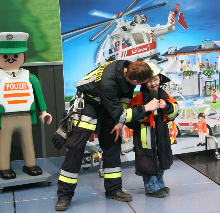 Foto: PLAYMOBIL-FunPark, SOS - die Rettung naht!