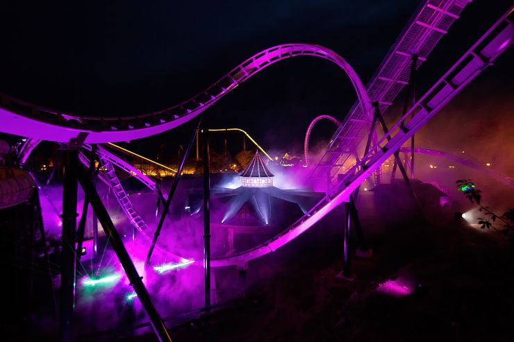 Foto: Heide Park Resort, llumination Wing Coaster