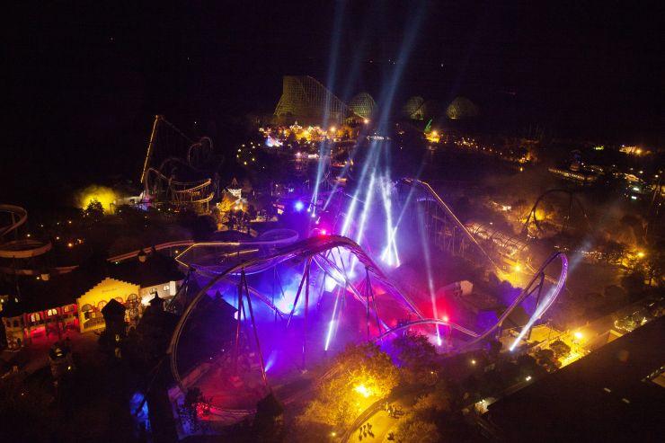 Foto: Heide Park Resort, llumination Wing Coaster