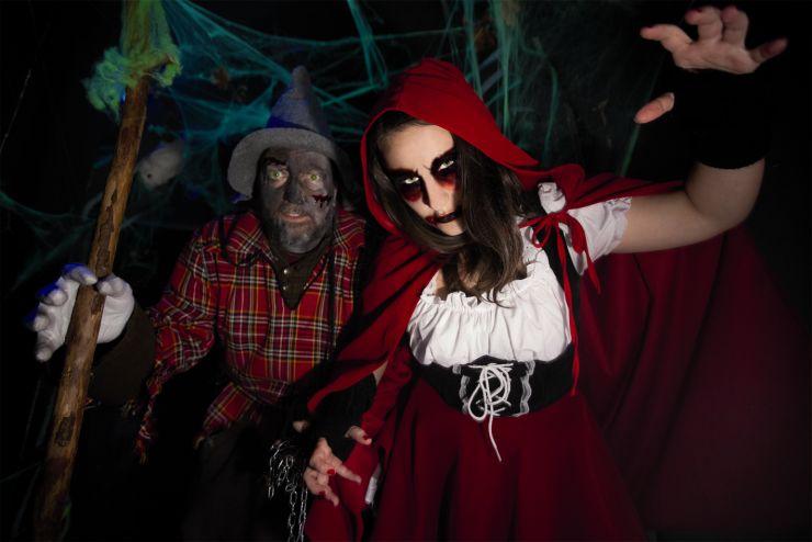 Fort Fun, Halloween Der Wald - es war einmal