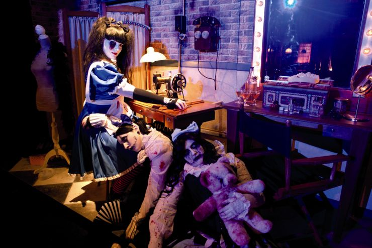Fort Fun, Halloween Jackie-Show 2
