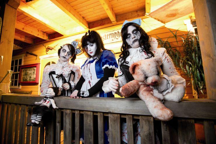 Fort Fun, Halloween Jackie-Show 3