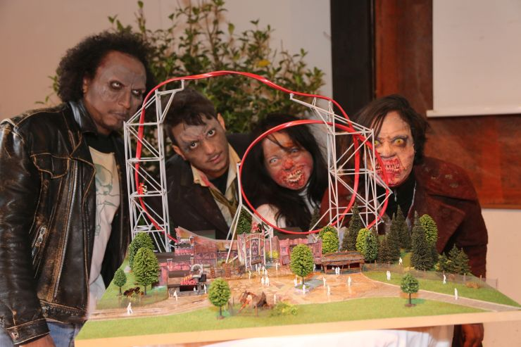 Foto: Holiday Park, Baustellenpressekonferenz