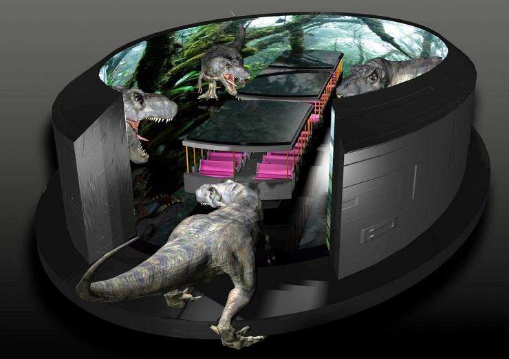 Foto: Simworx Website, Immersive Tunnel