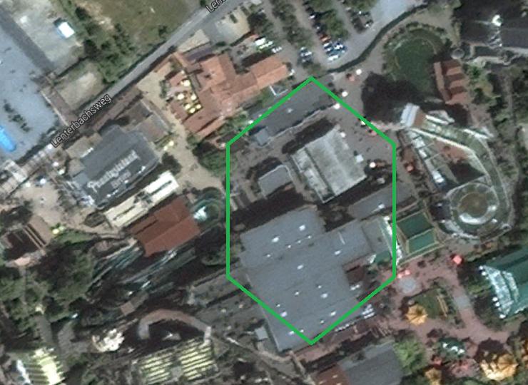 Foto: Google, Abrissbereich Silbermine Westernstadt