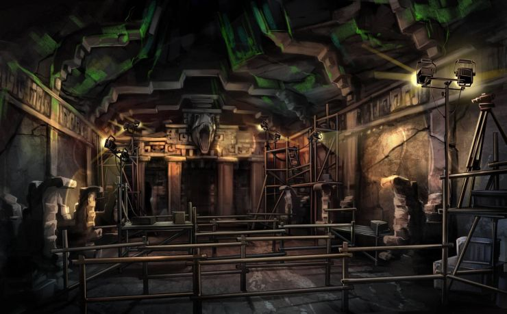 Foto: Movie Park, The Lost Temple Artworks