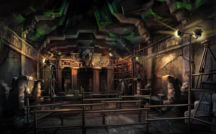 Foto: Movie Park, The Lost Temple Artworks