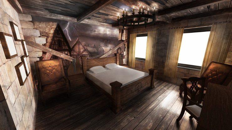 Foto: Heide Park Resort, Dämonenzimmer