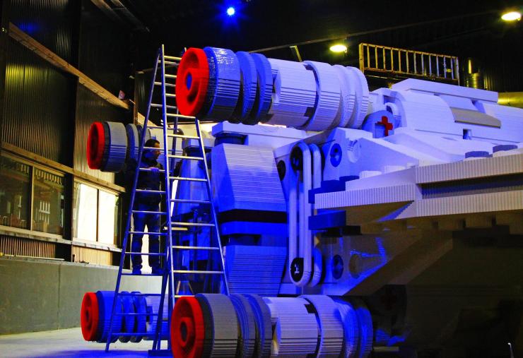 Foto: LEGOLAND Deutschland, LEGO STAR WARS X-Wing Starfighter