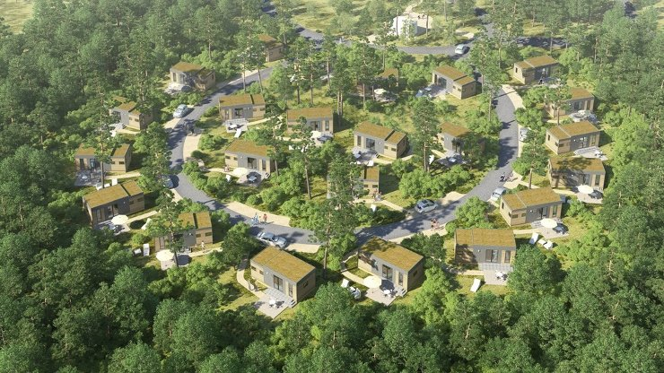 Foto: Tropical Islands, Mobile Homes