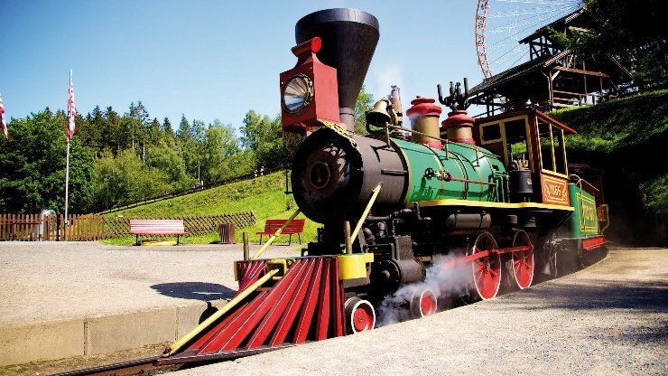 Foto: FORT FUN Abenteuerland, Santa Fe Express