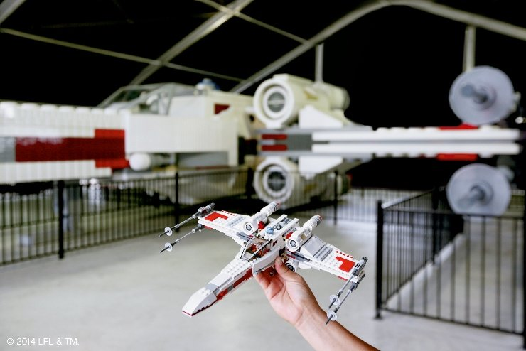 Foto: LEGOLAND Deutschland, LEGO STAR WARS™ X-Wing Starfighter