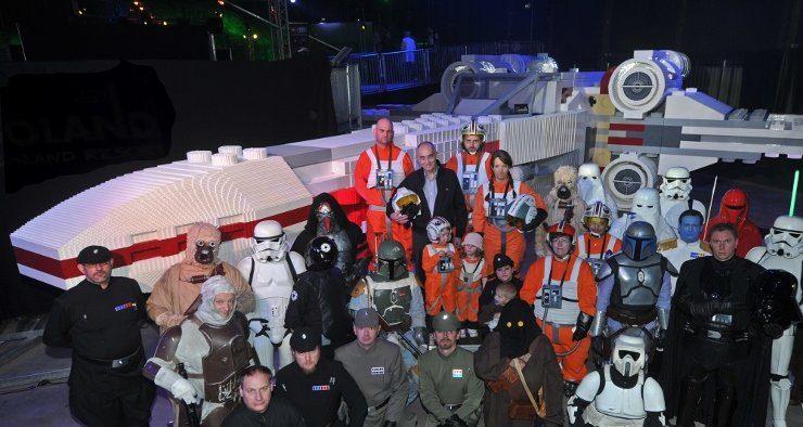 Foto: LEGOLAND Deutschland, Mitglieder der STAR WARS Fan Community