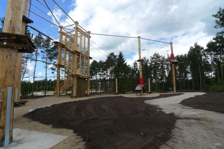 Foto: Heide Park Resort, Hochseilgarten 2014