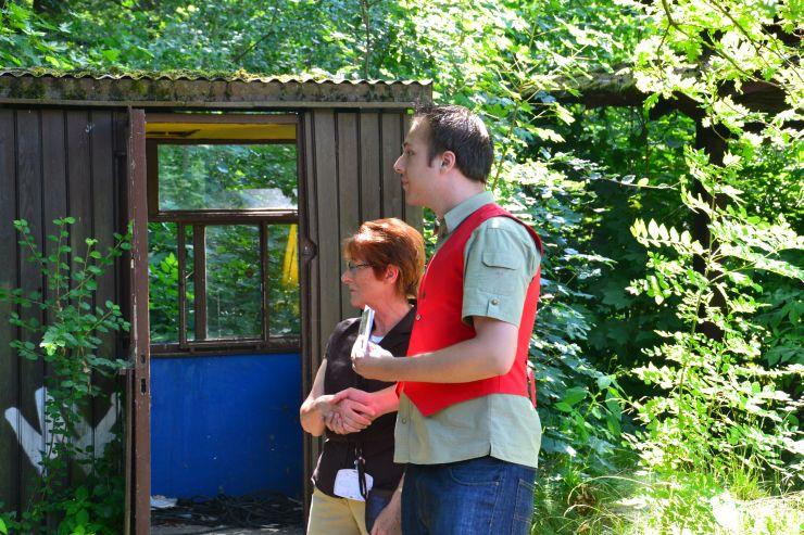 Foto: Freizeitparkinfos.de, Spreepark-Führung mit Christopher Flade