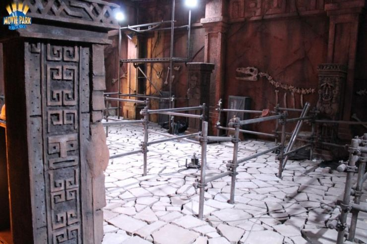 Foto: Movie Park, The Lost Temple Update 18.06.2014