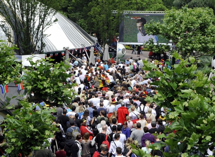 Foto: Europa-Park, Public Viewing Arena of Football