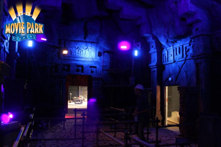 Foto: Movie Park, The Lost Temple Update 10.07.2014