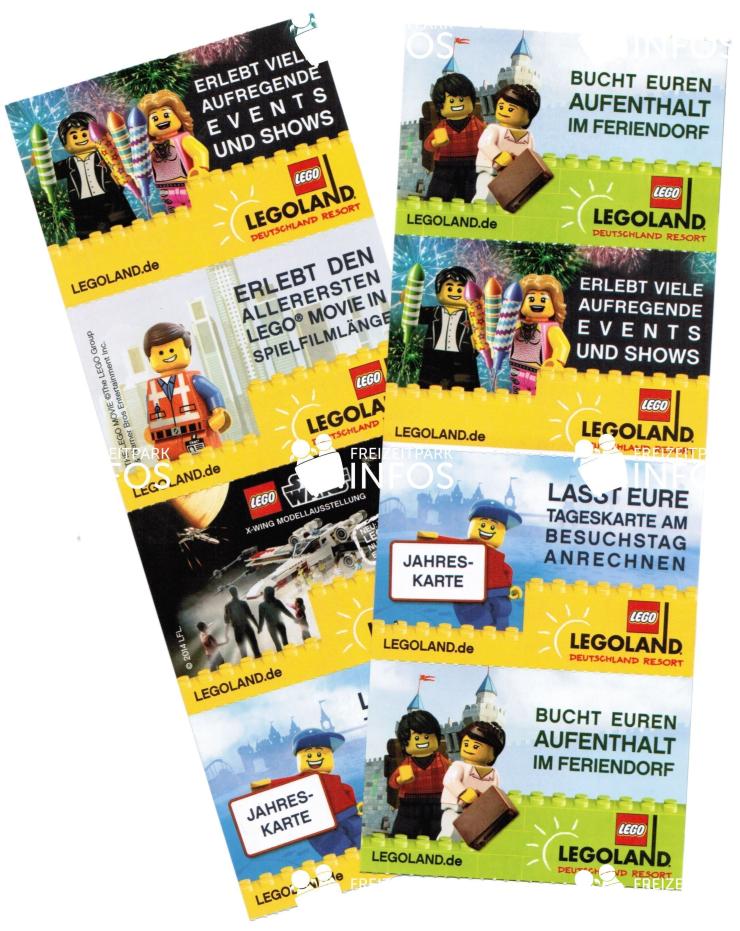 Freikarten Legoland