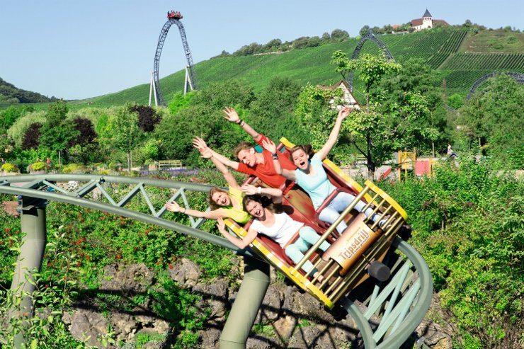 Foto: Erlebnispark Tripsdrill, Die G'sengte Sau