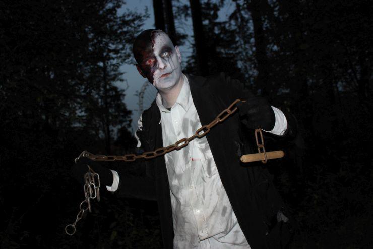 Foto: FORT FUN, FORT FEAR Horrorland 2014, Horror-Waldpfad