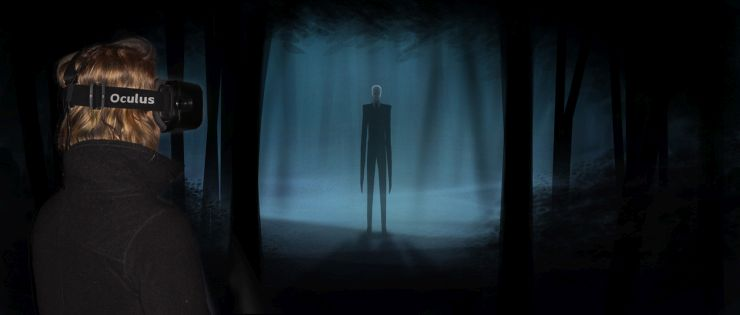 Foto: FORT FUN, FORT FEAR Horrorland 2014, Slender, The_Arrival