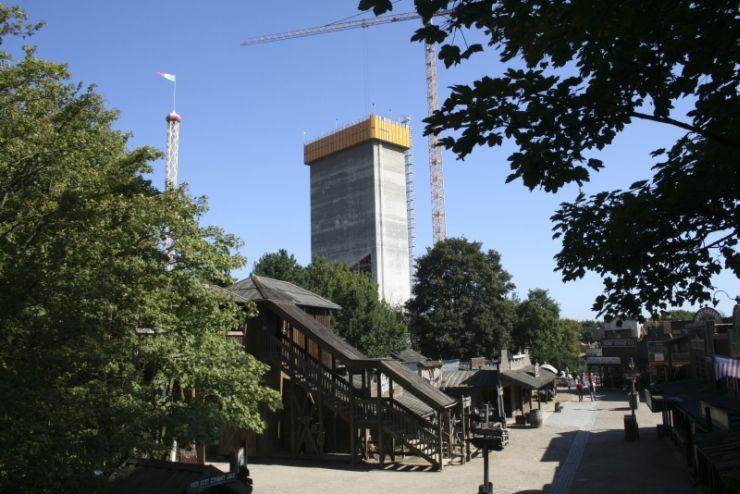 Foto: HANSA-PARK, Kärnan 2015, Bau-Update 04.09.2014