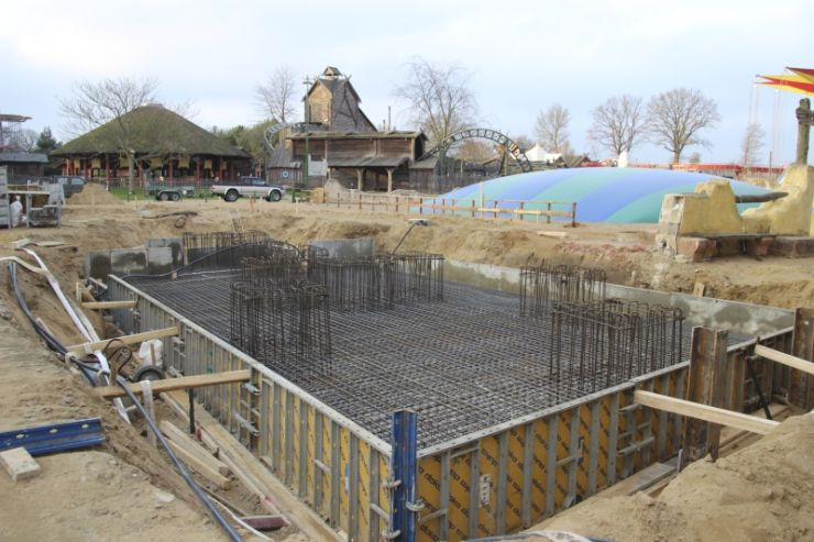 Foto: HANSA-PARK, Kärnan 2015, Bau-Update 26.11.2014