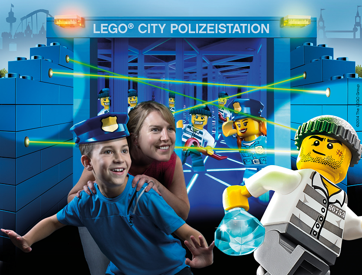 Foto: Legoland Deutschland, LEGO City Polizeistation