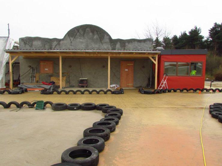 Foto: Heide Park Resort, Wüstenflitzer, Bau-Update 27.02.2015