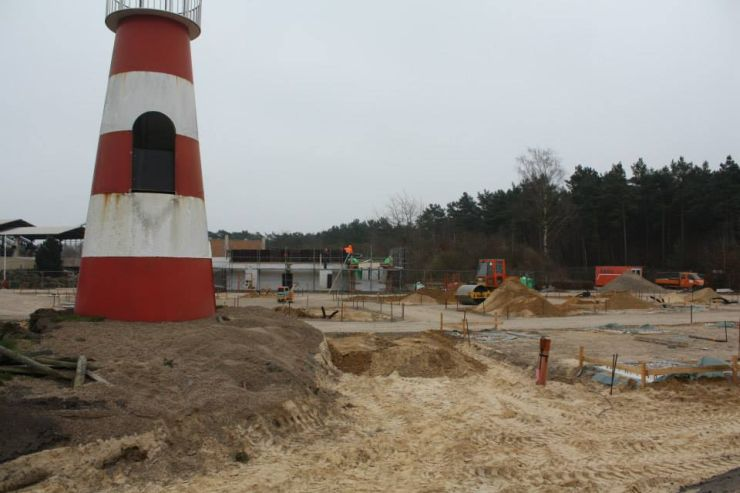 Foto: Heide Park Resort, Wüstenflitzer, Bau-Update 23.02.2015