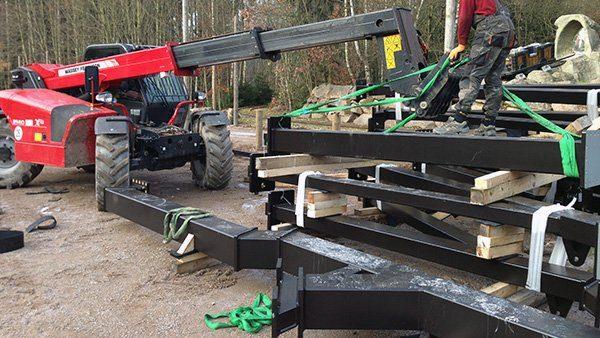 Foto: Freizeitpark Plohn, Miniwah 2015, Bau-Update 10.02.2015