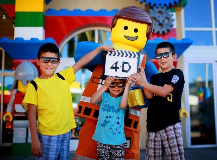 Foto: LEGOLAND Deutschland, Merlin Entertainments kündigt neuen 4D-Film an, der auf dem LEGO Movie™ von Warner Bros. basiert