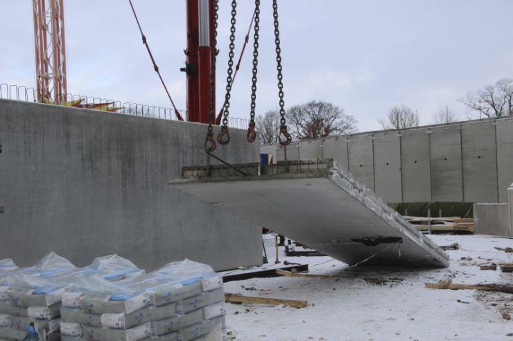 Foto: HANSA-PARK, Kärnan 2015, Bau-Update 05.02.2015