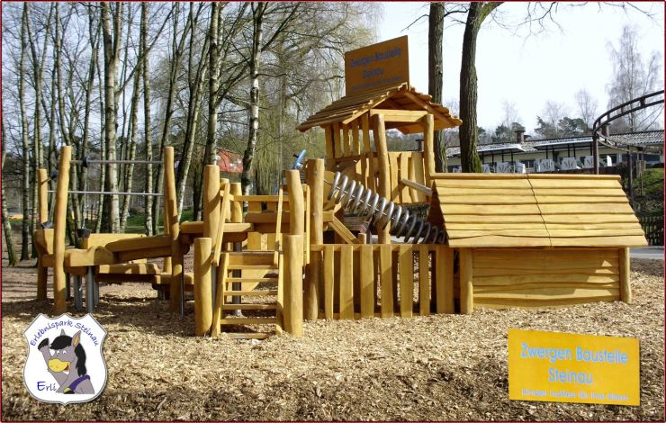 Foto: Erlebnispark Steinau, Zwergenbaustelle