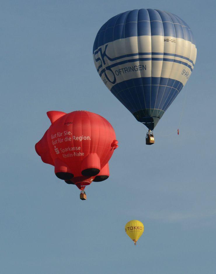 Foto: Europa-Park - Großes Ballonfestival im Jubiläumsjahr 2015