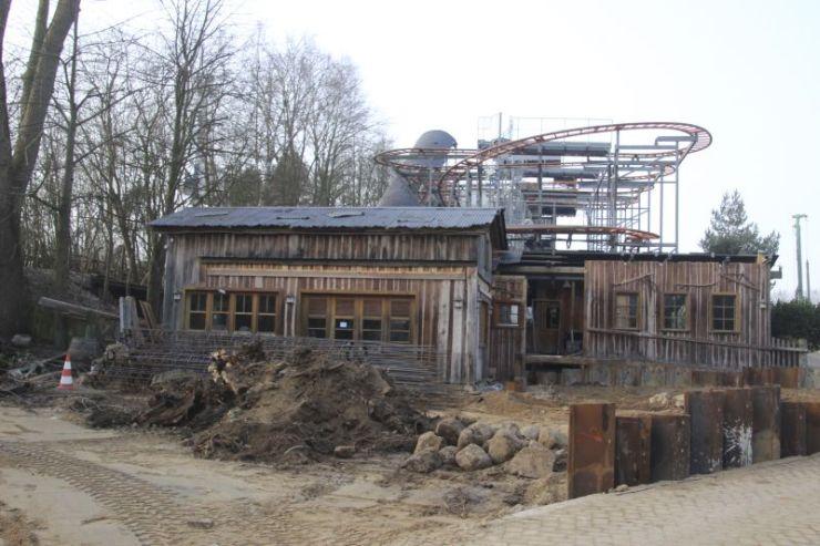 Foto: HANSA-PARK, Kärnan 2015, Bau-Update 17.02.2015