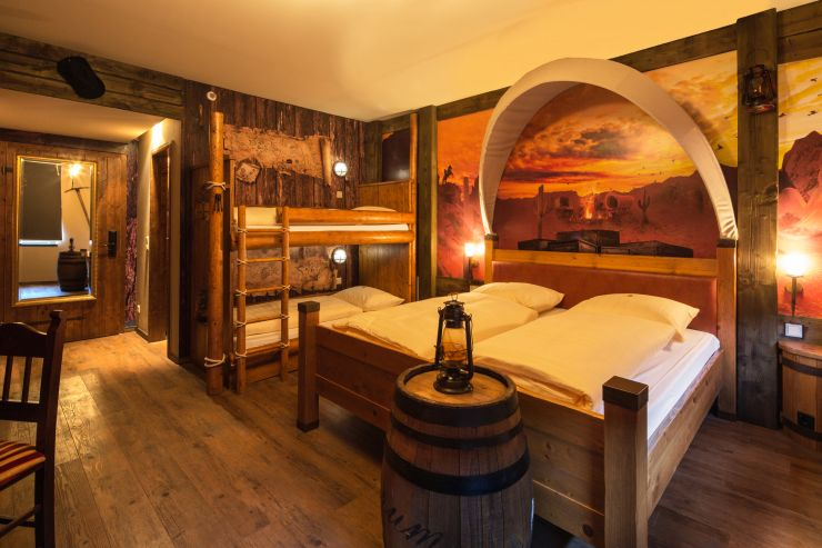 Foto: Heide Park Resort, Westernzimmer